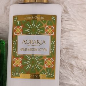 Agraria Lime and Orange Lotion